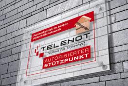 Telenot Stützpunkt Errichter
